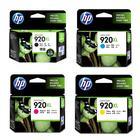 惠普HP 6000/6500/6500A/7500A喷墨打印机原装墨盒920 黑/红/黄/蓝色高容装