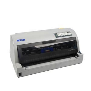 �燮丈�EPSON 高效�控�l票快�f�桅亍��高速106列A3大幅①面平推式�式打印�C LQ-675KT
