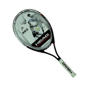 HEAD海德 黑色碳素复合材质男女款新手网球拍带线成品拍Speed27 2361003