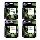 惠普HP 6000/7000/6500/6500A/7500A喷墨打印机940XL原装墨盒黑色/红色黄色蓝色高容装